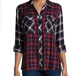 RAILS LIZA plaid button shirt